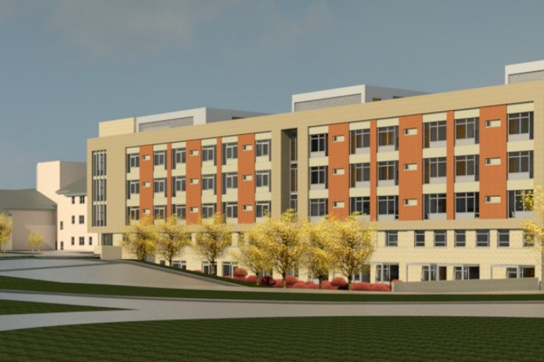 Construction works have commenced on the new Palliative Care and Ward Block at University Hospital Waterford