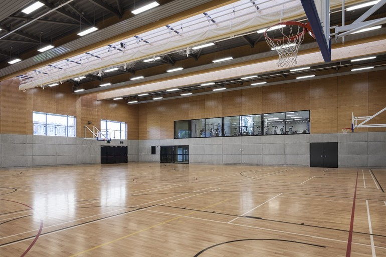 New Sports Hall Clongowes Wood School Wejchert Architects