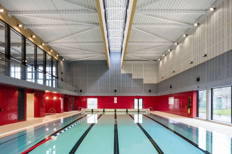 Swimming Pool project completed at Private College