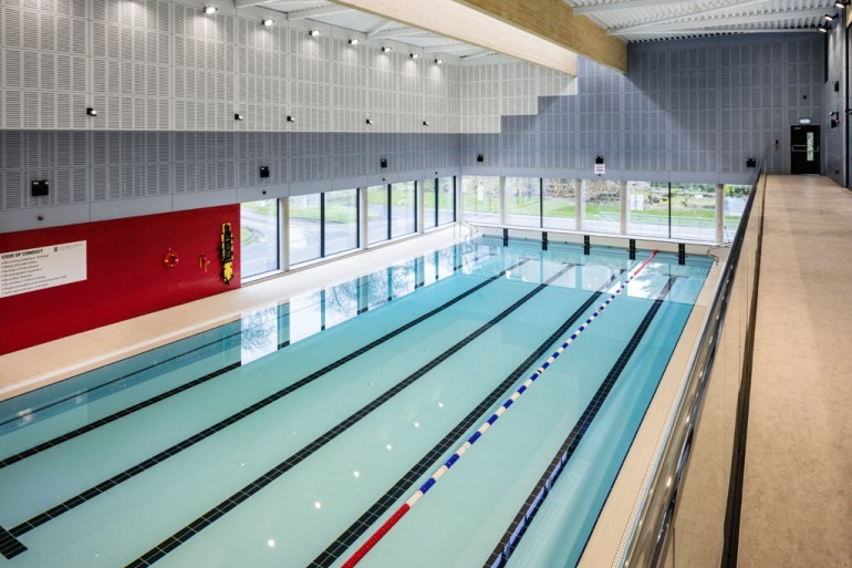 New Swimming Pool at Private College, County Kildare
