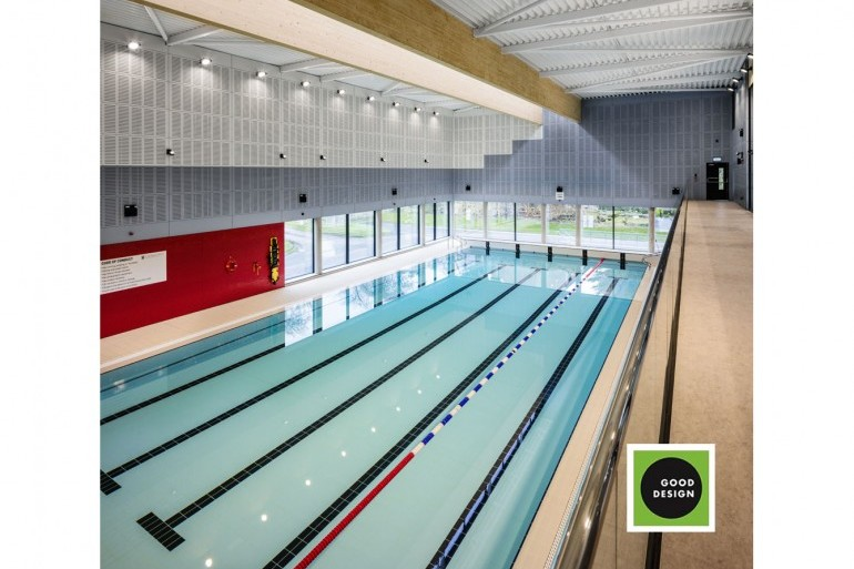 Green Good Design Awards - New Swimming Pool at Private College, County Kildare