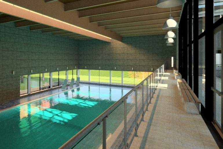 New Swimming Pool, Clongowes Wood College