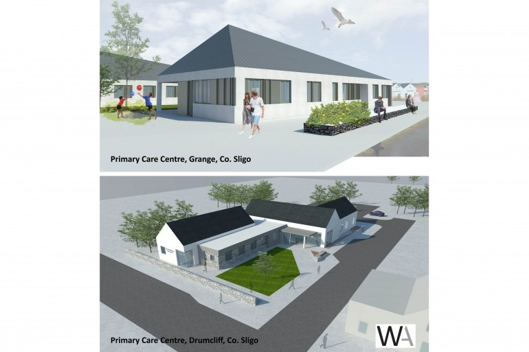 Planning Permission approval secured for two new Primary Care Centre's in Co. Sligo