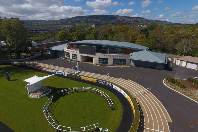 Development of Leopardstown Race Course nearing completion