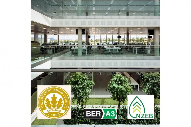 Irish Life Customer Centre achieves LEED Gold Certification