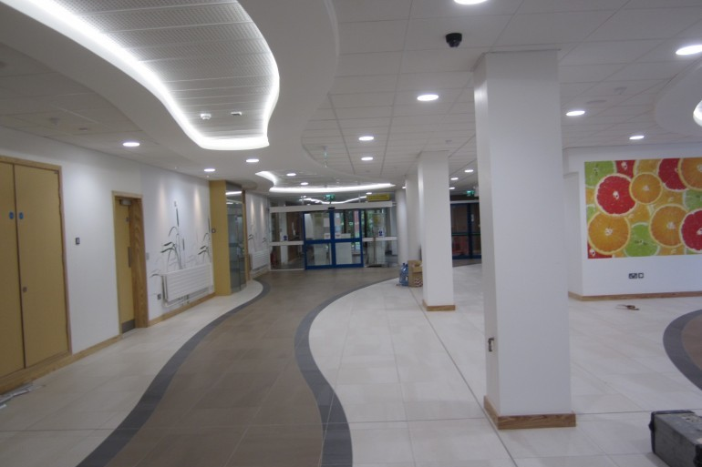 Emergency Department & Upgrade of Public Concourse, Midlands Regional Hospital, Mullingar