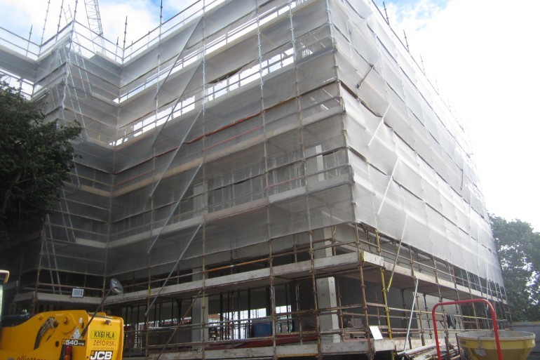 Construction works progressing well for Phase 2 development at Our Lady of Lourdes Hospital, Drogheda