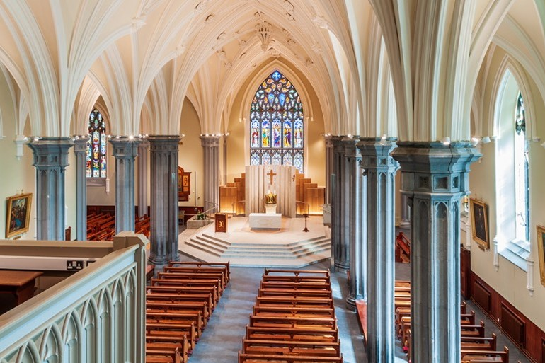 Successful completion of refurbishment works to the Cathedral of the Assumption, Tuam