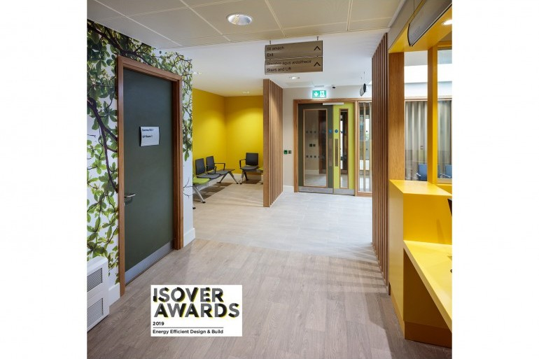 Primary Care Centre fit-out in Carrigtwohill, Co. Cork shortlisted for Isover Awards 2019