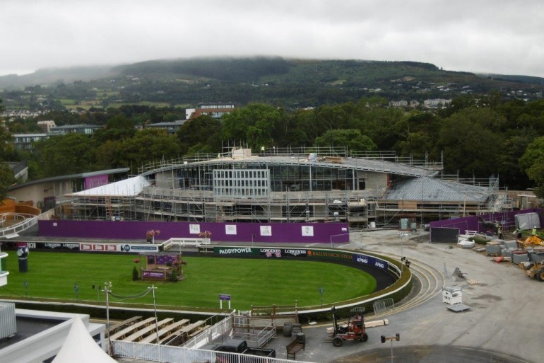Works progressing on the Phase 3 Redevelopment of Leopardstown Race Course