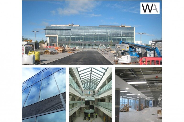 Works progressing on the new Office Building in Dundalk for Irish Life