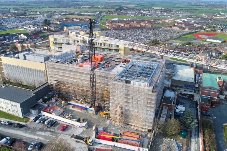 Phase 2 at Our Lady of Lourdes Hospital, Drogheda progressing