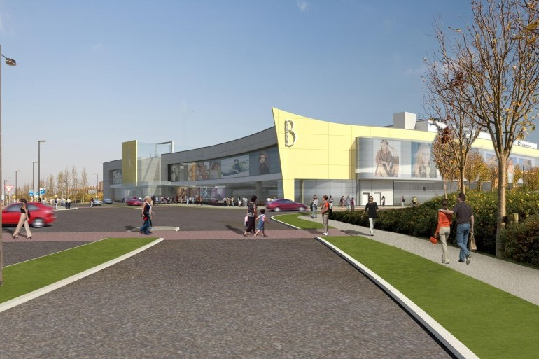 Yellow Mall, Blanchardstown Town Centre, Dublin